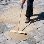 Škarovací piesok Techniseal® aplikácia