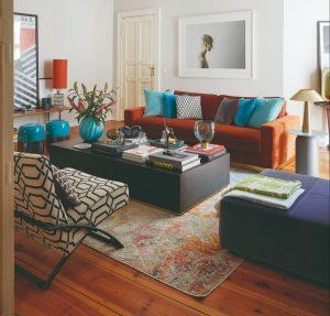 Oáza pokoja vo veľkomeste: Rozľahlý svetlý byt s vysokými stropmi