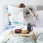 Čítanie v posteli