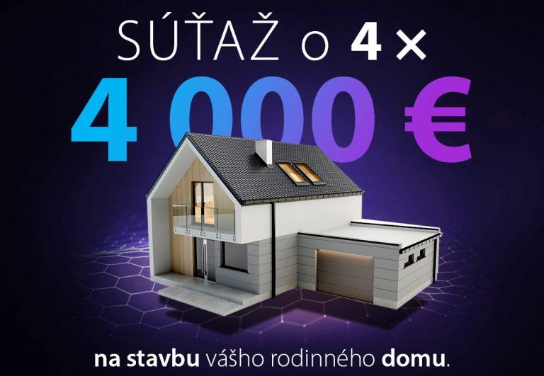 Súťažte s PORFIXom o 4 x 4 000 €