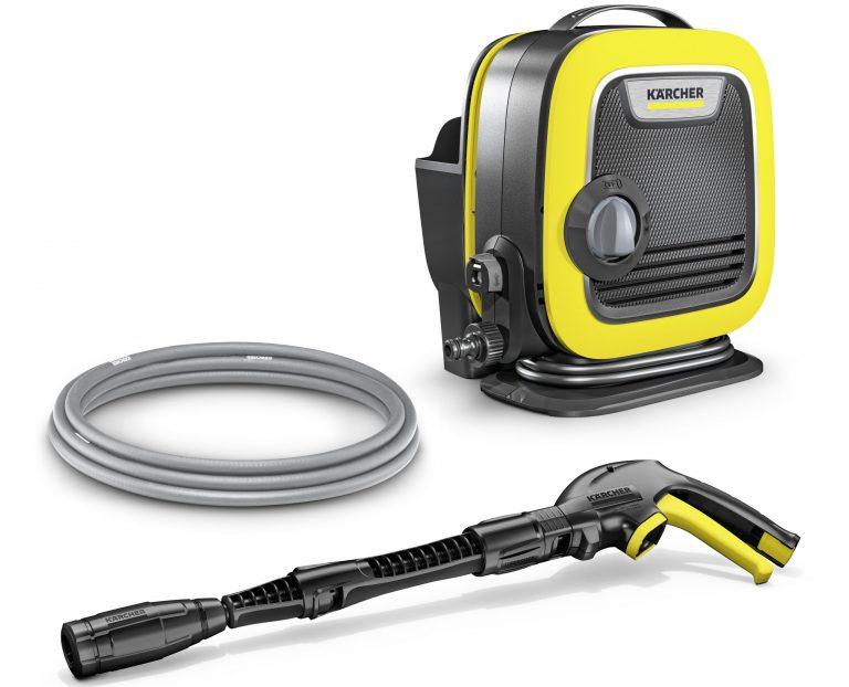 Kompaktný a ľahký: K Mini je najmenší tlakový čistič Kärcher