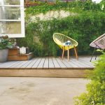Skrytá drevená terasa