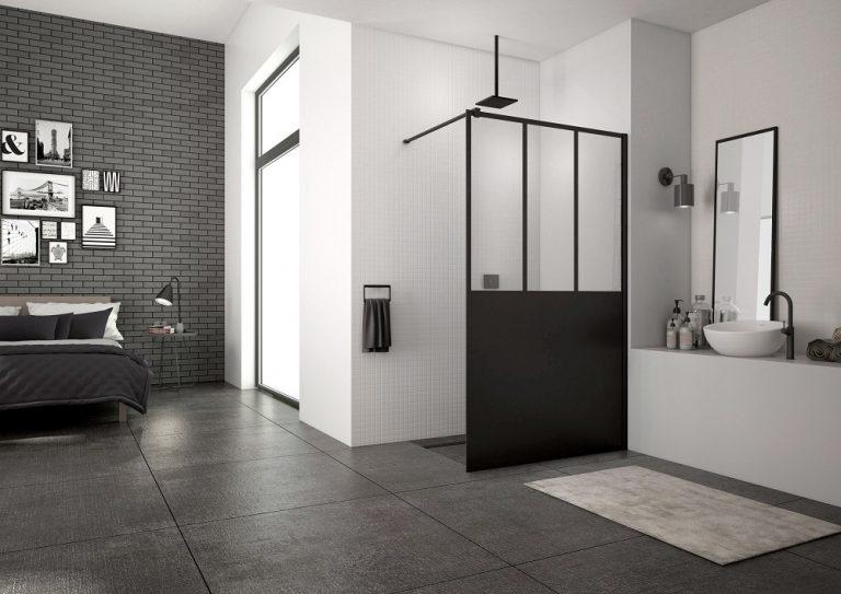 Walk-in zásteny SanSwiss EASY – úplne v trende súčasných kúpeľní