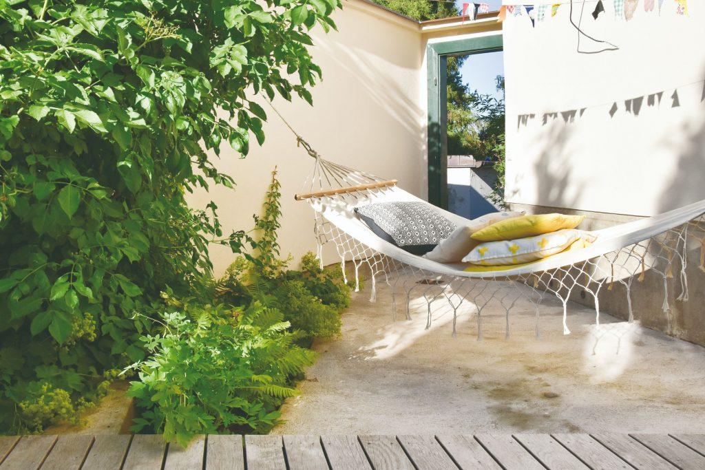 Oddychová časť záhrady