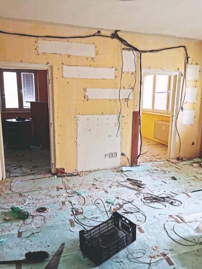 košický byt pred rekonštrukciou