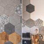 Hexagonové detaily v byte