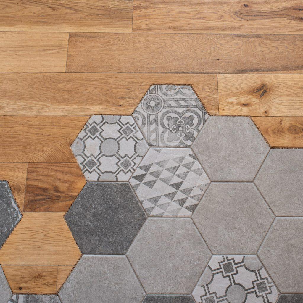 Hexagonová dlažba