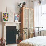Nábytok z bambusu v spálni