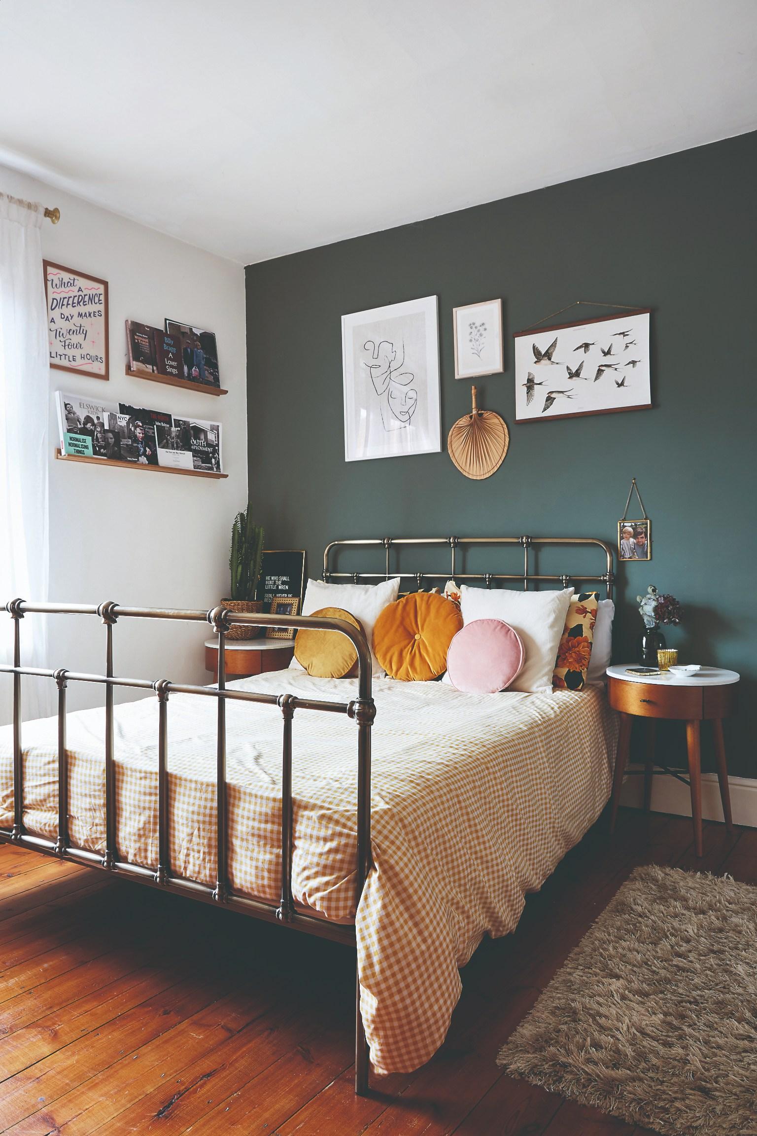Spálňa v retro štýle