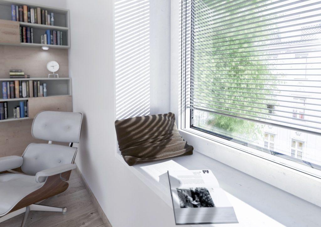 Solárne energeticky sebestačné I-tec Tienenie od Internorm