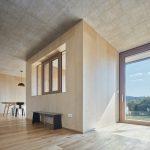 Smrekovcový interiér