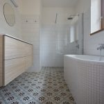 Kúpeľňa v jemných tónoch
