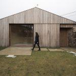 Drevený vidiecky domček