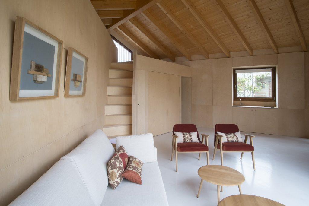 Obývačka v domčeku