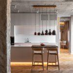 Moderná kuchyňa s ostrovčekom