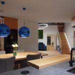 Obývačka s jedálňou a kuchyňou