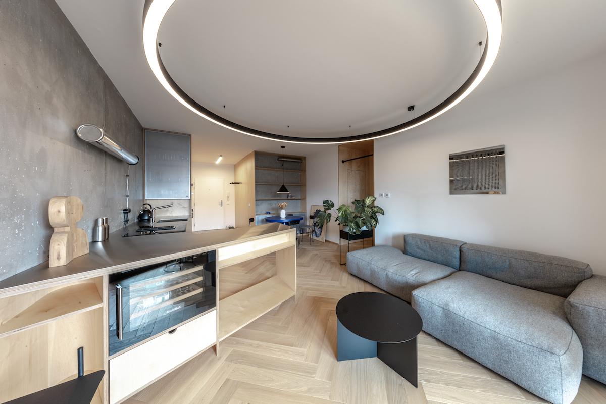 Obývacia časť
