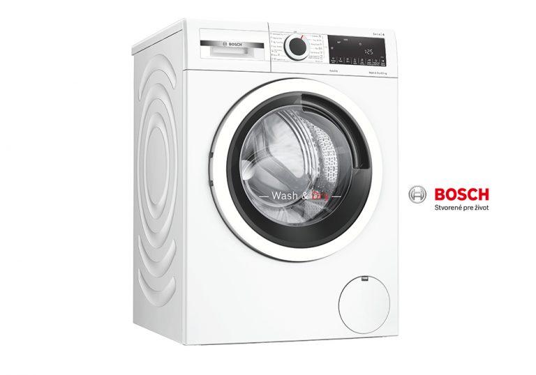 Vyhrajte NOVINKU – kombinovanú práčku so sušičkou BOSCH