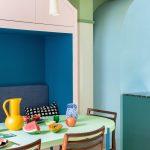 Tropické odtiene v jedálni