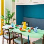 Farebná jedáleň