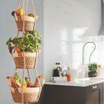 Závesný košík do kuchyne