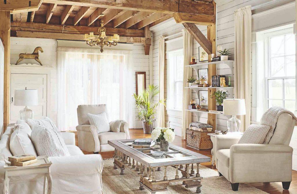 Zariaďujeme obývaciu izbu v provensalskom štýle