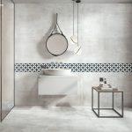 Biela moderná kúpeľňa