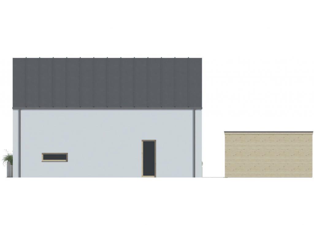 projekt rodinného domu Blanka 63 B