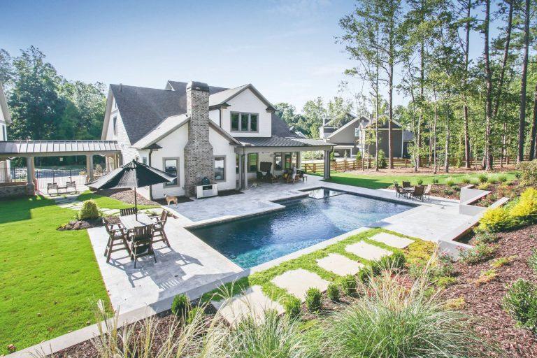 Koľko miesta na pozemku potrebuje bazén?