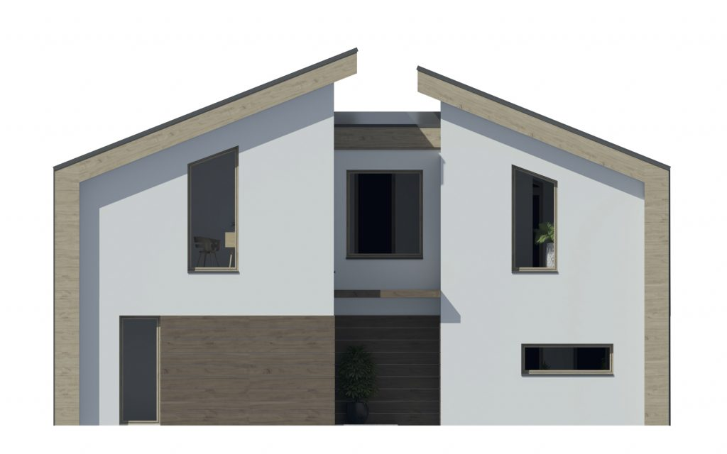 projekt rodinného domu Dominik 44