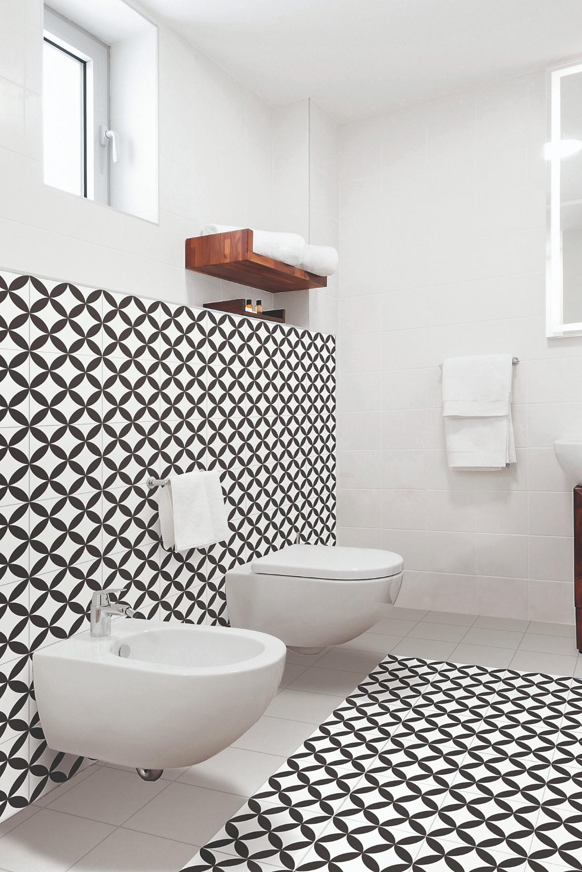 Geometria v kúpeľni