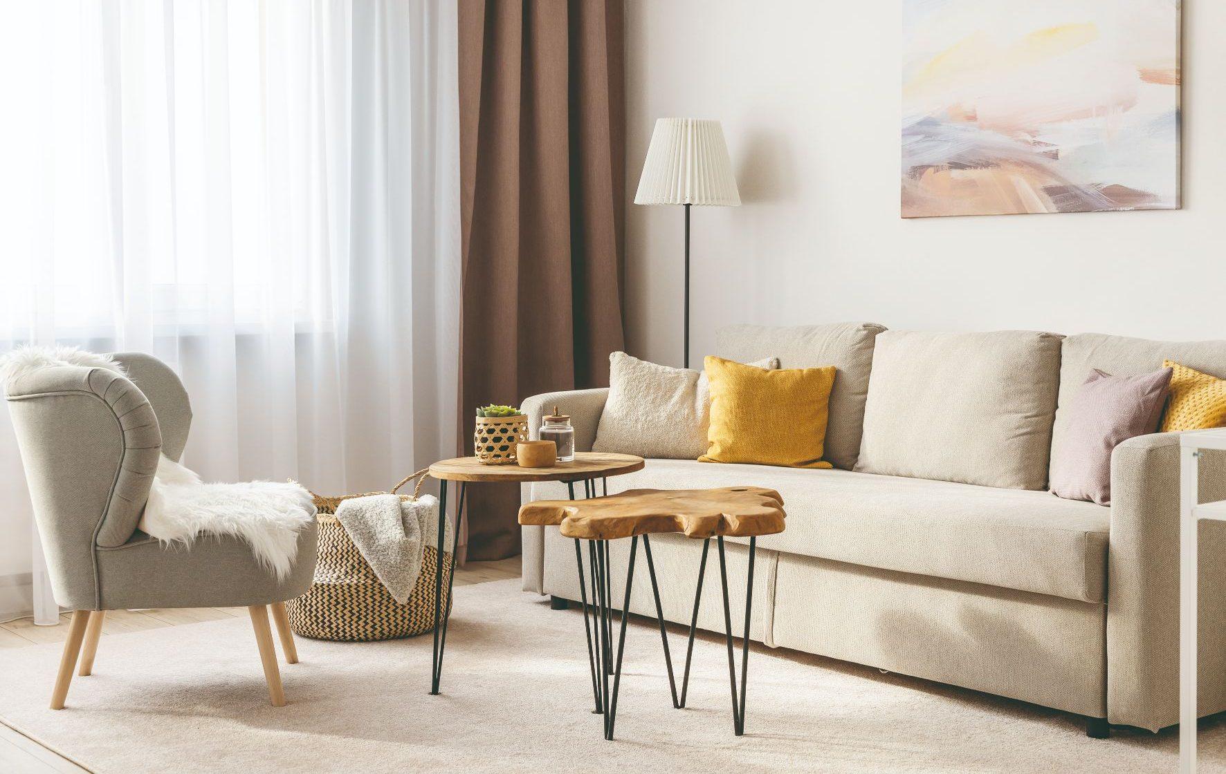 Obývačka s gaučom