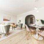 Obývačka po rekonštrukcii