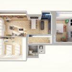 Dispozícia bytu