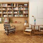Knižnica a jedáleň