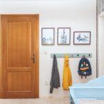 Závesné miesto v detskej izbe