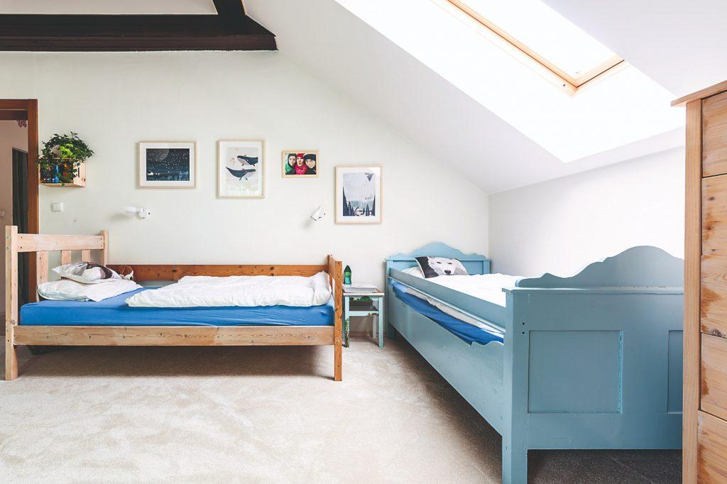 detská izba v pôvodnom stave