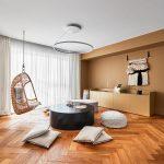 Miestnosť s oddychovou časťou