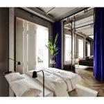 Spálňa s prechodom do obývačky