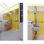 Žltá v kúpeľni