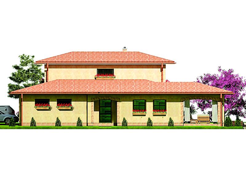 projekt rodinného domu Javijany 42