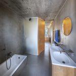 Betónová kúpeľňa