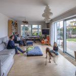 Minimalistický štýl obývačka
