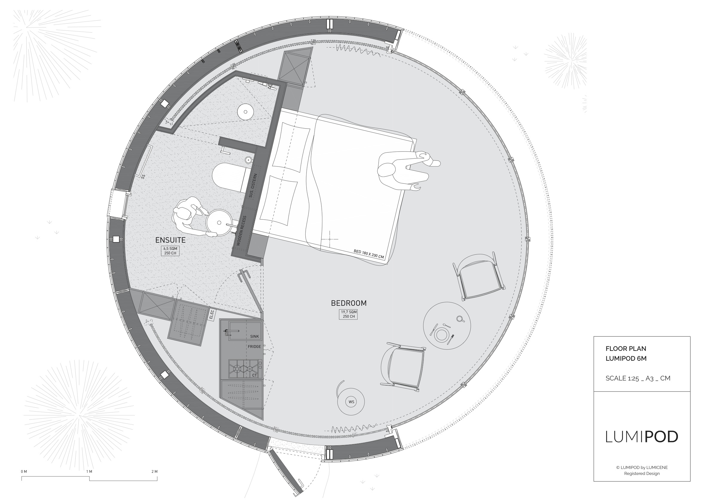 LumiPod 6 floor plan
