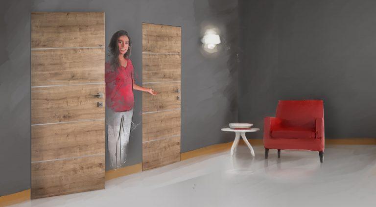 Poradňa: Skryté zárubne dverí. Kam patria?