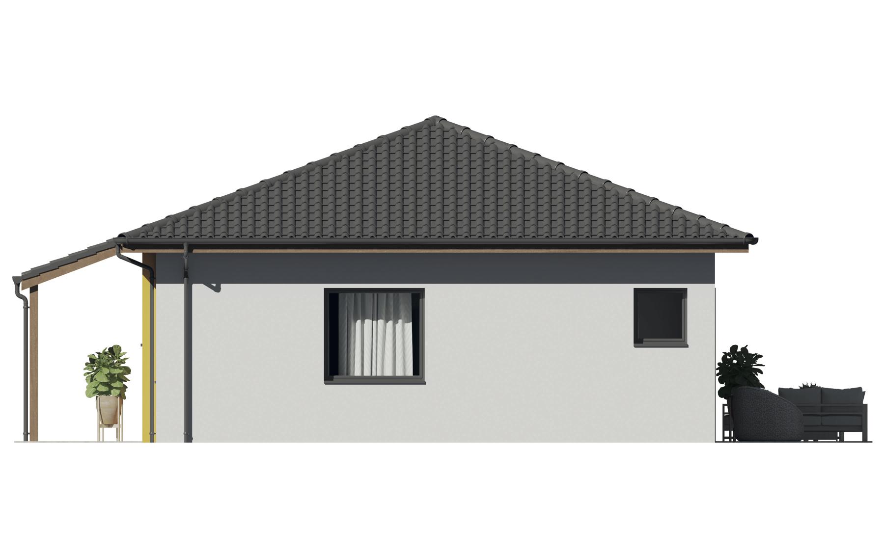 Projekt rodinného domu Katka 12XL4