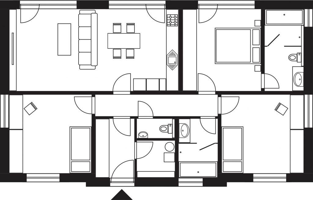 Projekt rodinného domu Katka 12XL6