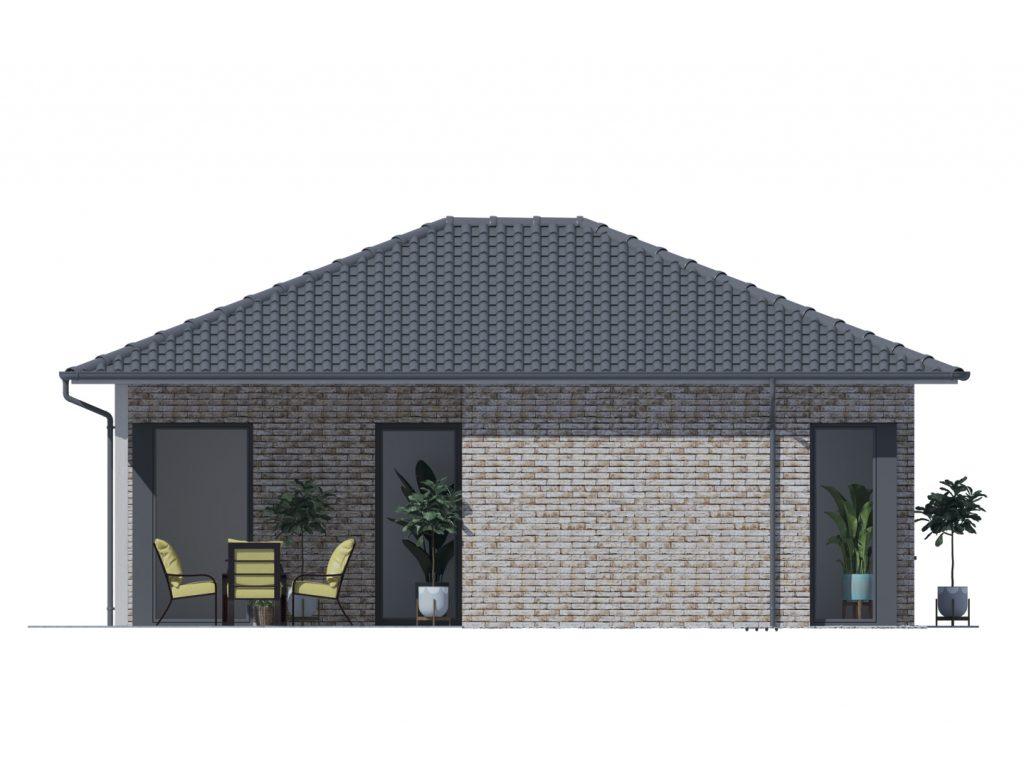 Projekt rodinného domu Kristína 542