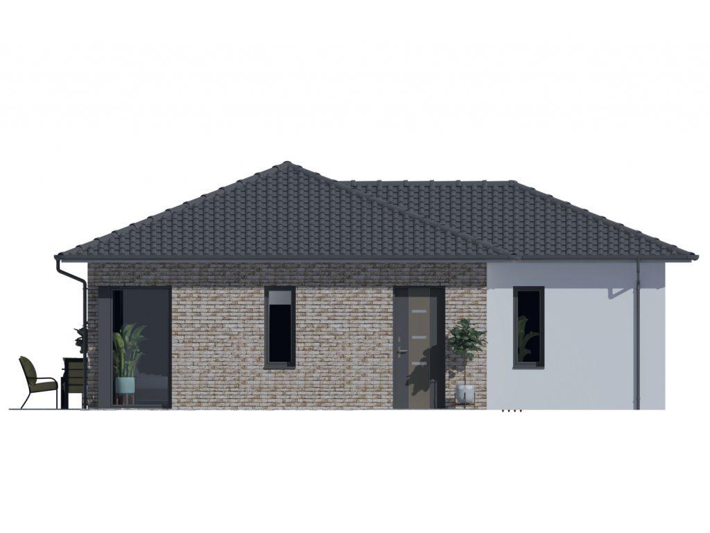 Projekt rodinného domu Kristína 543