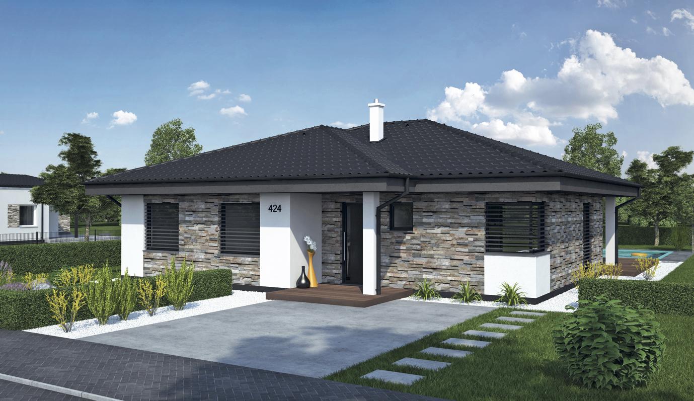 Projekt rodinného domu Laguna 4240
